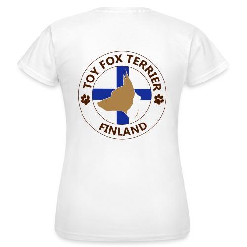 Finland TFT pää - Naisten t-paita