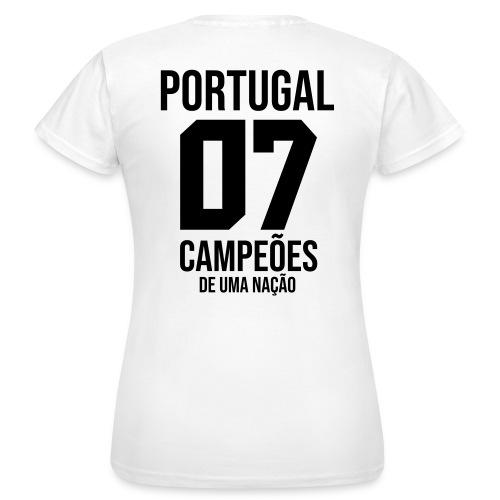 PORTUGAL07 - T-shirt Femme