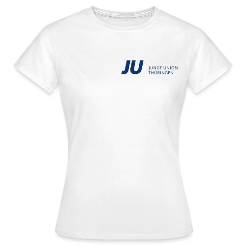 JU Thüringen blau quer - Frauen T-Shirt