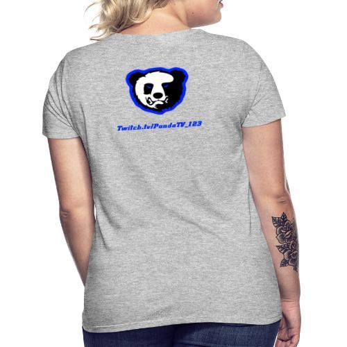 PandaTV_123 Merch - Dame-T-shirt