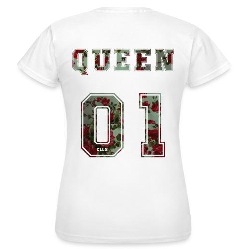 Queen 01 Dunkel - Frauen T-Shirt
