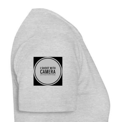 I SHOOT WITH CAMERA - Dame-T-shirt