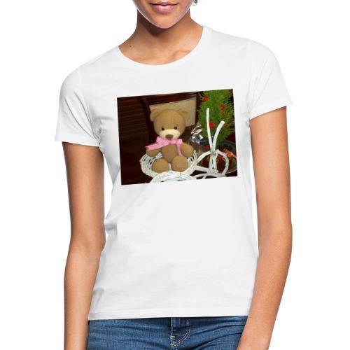 Oso amigurumi de crochet hecho a mano,suave - Camiseta mujer