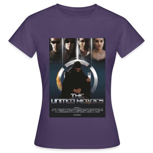 affiche United Heroes - T-shirt Femme