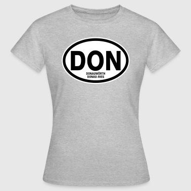 DON Donau-Ries Donauwörth - Frauen T-Shirt