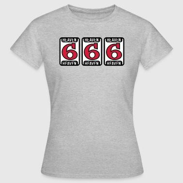 Hell Jackpot 666 - Frauen T-Shirt