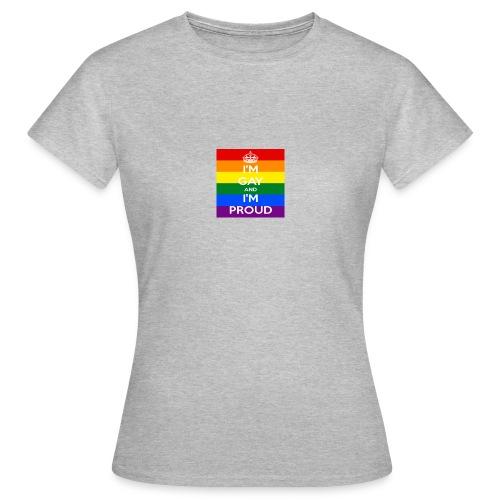 Proud gay - T-shirt dam