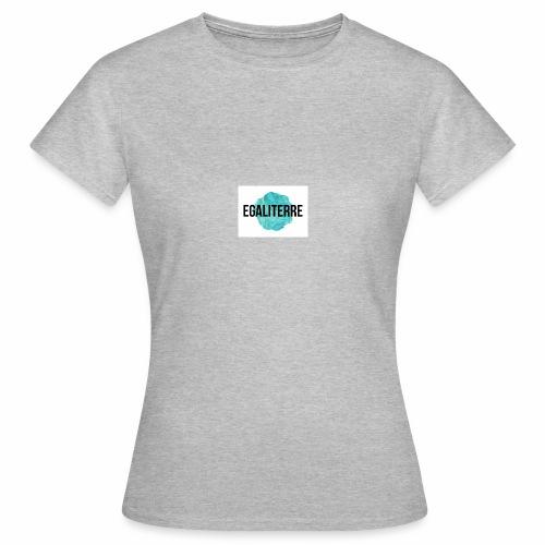 EgaliTerre - T-shirt Femme