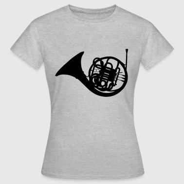 French Horn - Women's T-Shirt