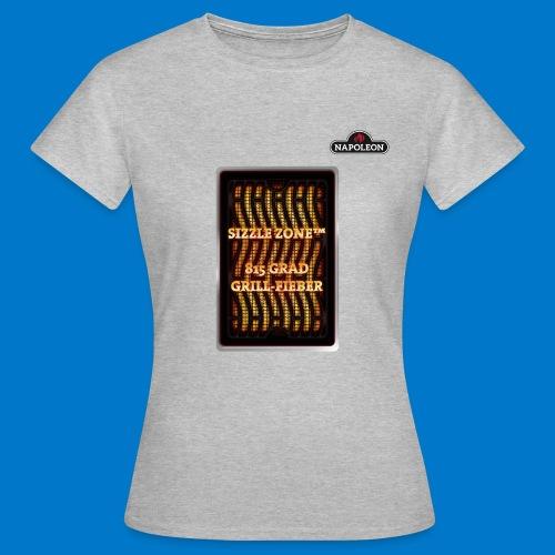 GRILL FIEBER - Frauen T-Shirt