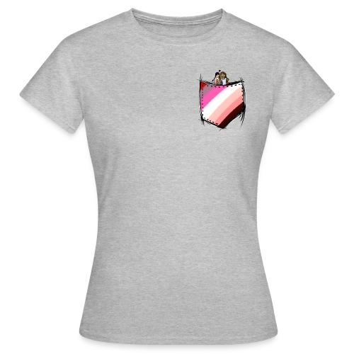 pocket lesbians flag - T-shirt Femme