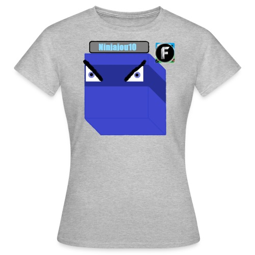 Ninjajou10 T-shirt (with the Freedom! logo) - Women's T-Shirt