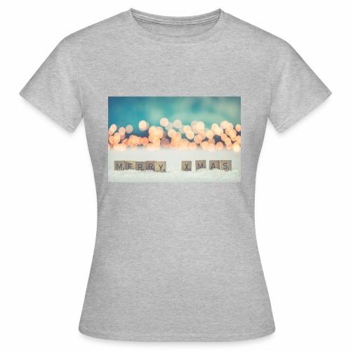 Merry Christmas - Dame-T-shirt