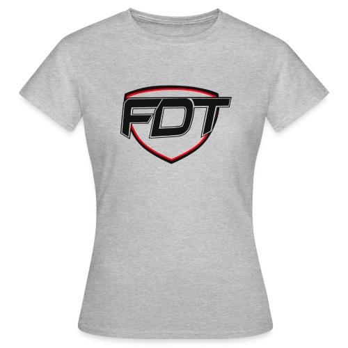 FDT initial - T-skjorte for kvinner