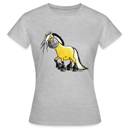 fjord horse - Frauen T-Shirt