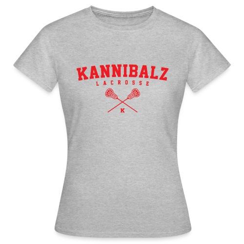 Kannibalz Lacrosse 1 - Vrouwen T-shirt