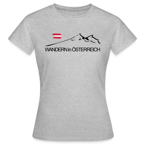Wandern in Österreich - Frauen T-Shirt