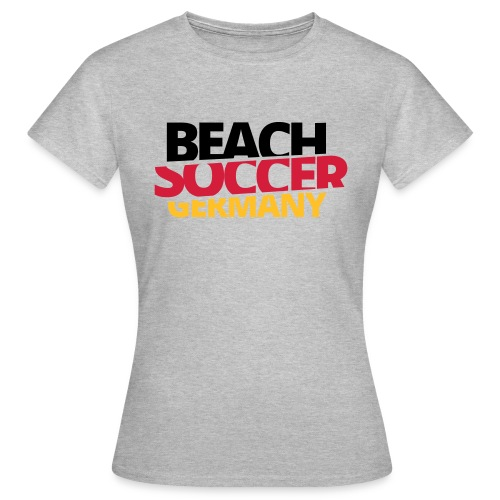 BEACHSOCCER GERMANY - Frauen T-Shirt