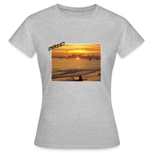 Sunset - Frauen T-Shirt
