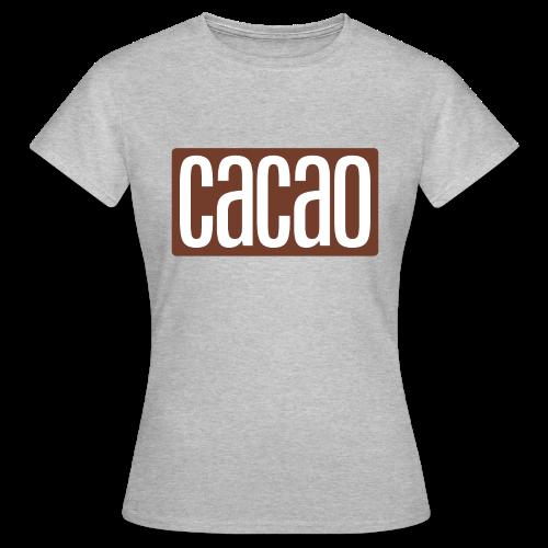cacao - Frauen T-Shirt