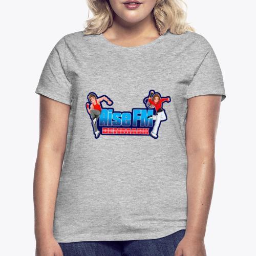Rise FM Denmark Full Logo - Dame-T-shirt