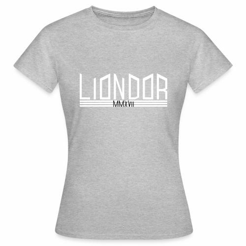 LD_Jagged_white - Frauen T-Shirt