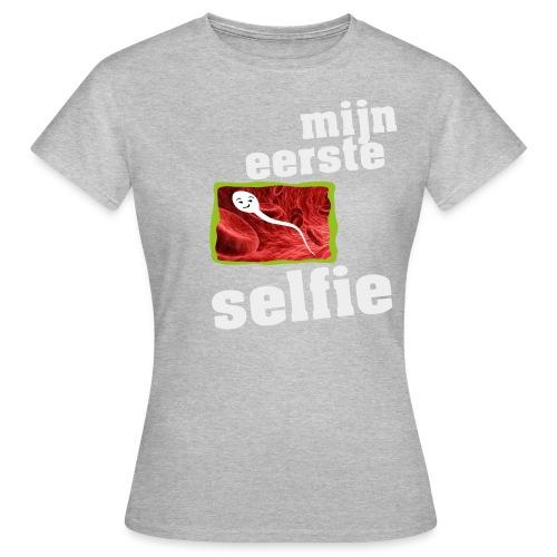 mijn eerste foto - Vrouwen T-shirt