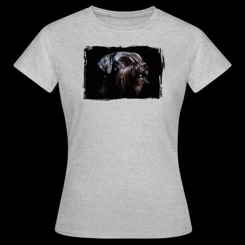 Schnauzerportrait - Frauen T-Shirt