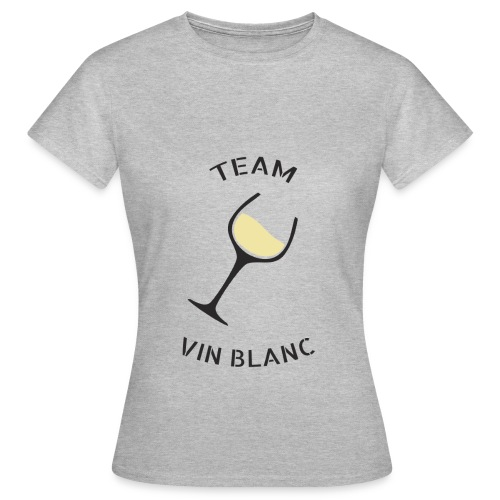 Team Vin Blanc - T-shirt Femme