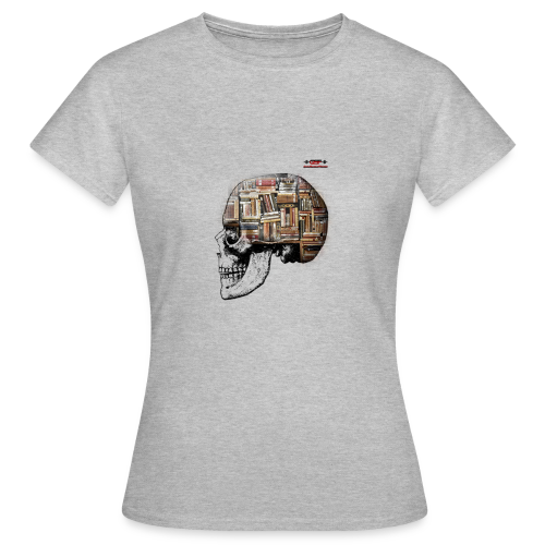 GSF MIND FULL OF BOOKS DESIGN - Frauen T-Shirt