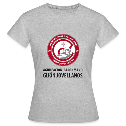 Escudo Gijón Jovellanos - Camiseta mujer