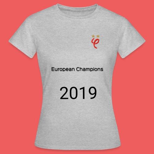 Phi european champions 2019 - T-shirt Femme