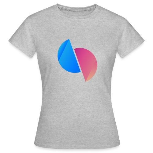 Ediplace logo färg - T-shirt dam