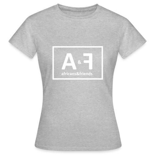 africans friends - Frauen T-Shirt