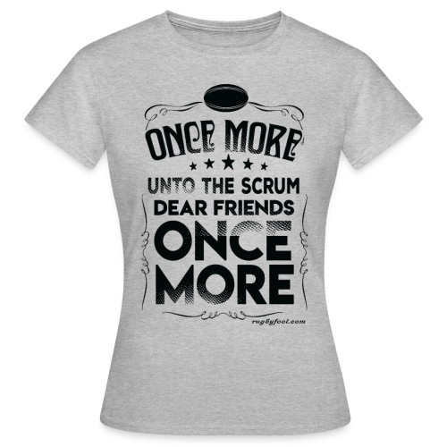 Once More Black On Transparent - Women's T-Shirt