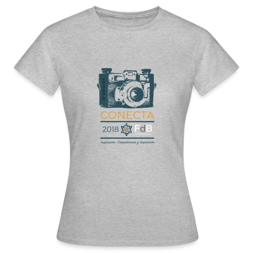 camiseta CONECTA color - Camiseta mujer
