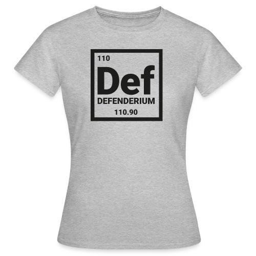 DEFENDERIUM BLACK - Vrouwen T-shirt