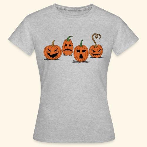Pumpkin gear - Pumpkin gear on Halloween - Women's T-Shirt