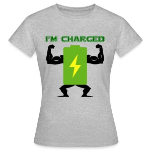 Battery charged - Camiseta mujer