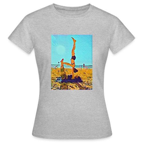 Schulterstand - Frauen T-Shirt
