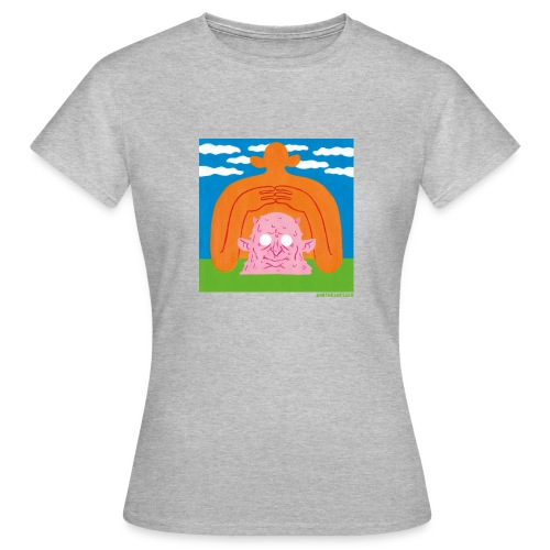 Sun Giant and Demon Head - Frauen T-Shirt