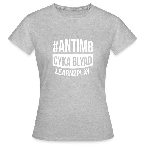 Active-Players.net Merch Collection: #ANTIM8 - Frauen T-Shirt