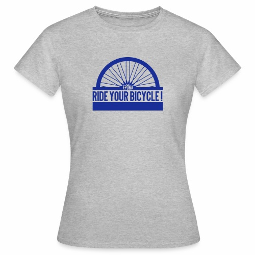 ride your bike - T-shirt Femme