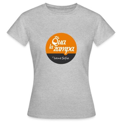 Logo Qua la Zampa - Maglietta da donna