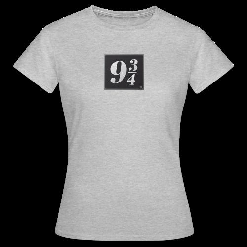Andén nueve y tres cuartos - Camiseta mujer