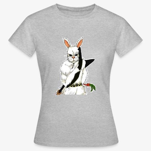 The white Rabbit - T-skjorte for kvinner
