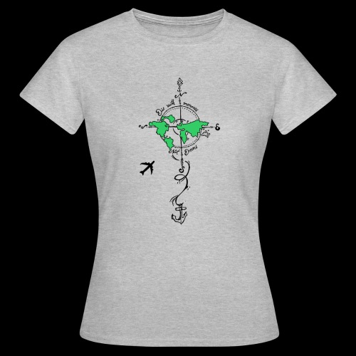 Reise shirt - die with memories, not with Dreams - Frauen T-Shirt