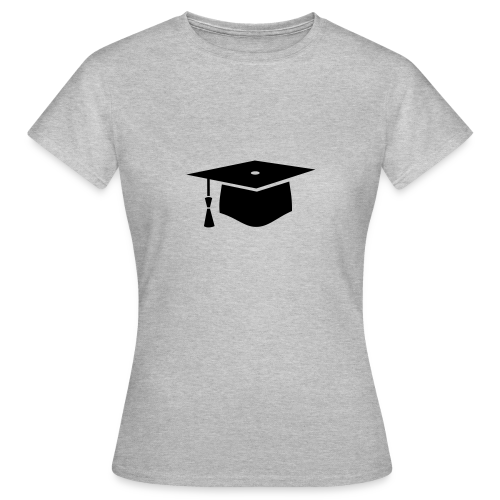 einfacher Doktorhut - Geschenk zur Doktorarbeit - Frauen T-Shirt
