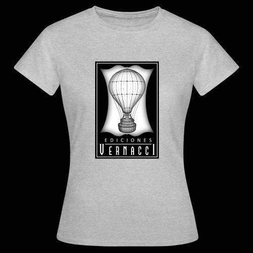 logotipo de ediciones Vernacci - Camiseta mujer