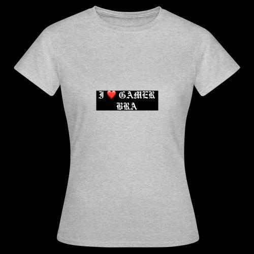 GAMER BRA YT - Frauen T-Shirt